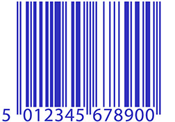 32f8f25e8f60 Acceptable colour combinations for printing barcodes. Black on White. Blue  on White
